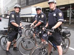 NYPD Bike Police