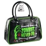 Zombies Never Die - Bowler Purse