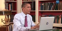 "Flashback: Obama Creates ""Not Your Ordinary Website Demo"" Sarah Jean Seman | Oct 30, 2013"