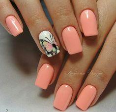 Imagen de nails, butterfly, and nail art