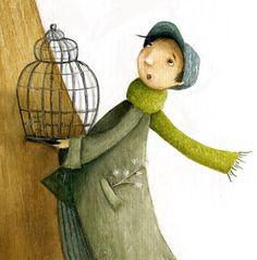 VALERIA DOCAMPO Children's Book Illustration, Illustrations, Illustration Children, Kids Story Books, Children Books, Whimsical Art, Bird Art, Cute Art, Character Design