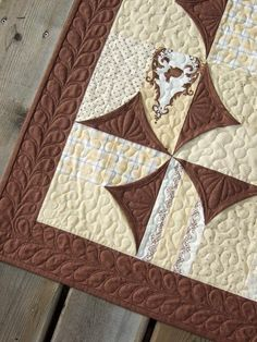 Tamarack Shack: 5 Minute Block Quilted