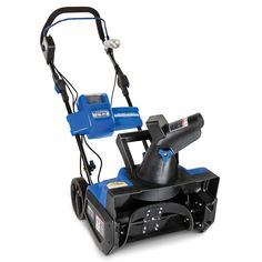 The Only Rechargeable Snow Blower - This is the only snow blower that runs on a rechargeable battery, eliminating the hassle of refilling a gas tank or untangling a power cord. - Hammacher Schlemmer