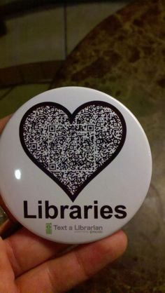 We could make a QR code for SLIS Library!