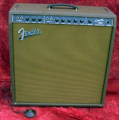 "Fender 1961 Concert, Model 6G12, Brown Tolex 40 Watts 4x10"" Fender Special Design"