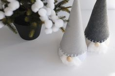 DIY Candy has simple instructions for creating these Nordic gnomes, which are obviously the greatest thing ever.