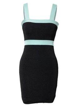 Kardashian kollection black bar dress