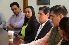 """Núñez Aguilar agradeció el espacio pues refirió """"algo que es muy importante es trabajar de la mano del IEM y que se capacite a los integrantes del comité para fortalecer a nuestro partido con reglas claras y trascendentales"""""""