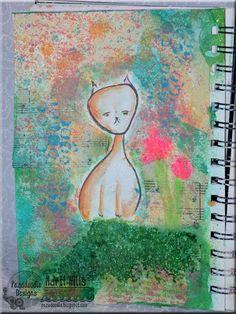 Pez-A-Doodle Designs - art journal