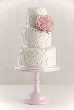 Image detail for -lace-applique-wedding-cake.jpg