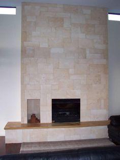 travertine fireplaces   Travertine tile fireplace   Flickr - Photo ...