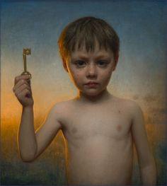 Conor Walton: The Key,oil on linen, 2012.