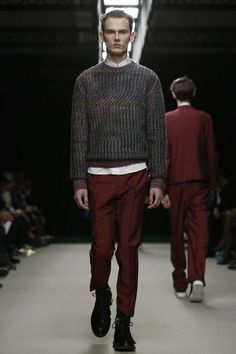 KRISVANASSCHE Menswear Fall Winter 2014 Paris - NOWFASHION