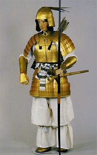 Nara Period Armor (would have been black)
