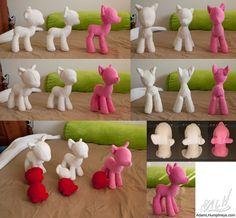 Pony Plushie Development by *adamlhumphreys on deviantART