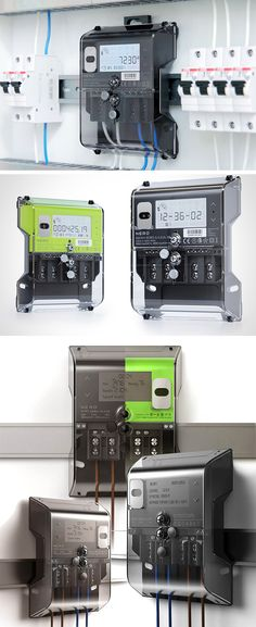 It's called SM101 and it's a single-phase residential electric meter that's highly precise and programmable with surge protection and the ability to independently transmit metered information to the energy company and calculate costs.