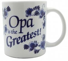 Gift for Opa Coffee Cup – DutchNovelties                                                                                                                                                     More