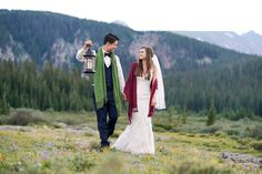 Brainard Lake Rocky Mountain Wedding Inspiration, Colorado. Photography by @hmimages