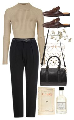 """Untitled #9570"" by nikka-phillips ❤ liked on Polyvore featuring Topshop, ASOS Curve, Gucci, Forever 21 and Fresh"