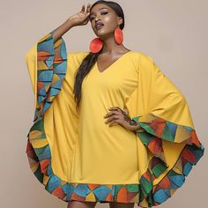 Plain and Pattern Ankara Styles for African Queen – African Fashion Dresses - African Styles for Ladies Ankara Styles For Women, Ankara Gown Styles, Latest Ankara Styles, African Print Dresses, African Fashion Dresses, African Dress, African Prints, Ankara Fashion, African Fabric