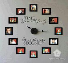 Diy picture clock