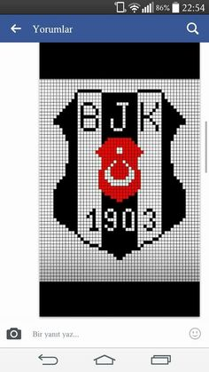 This Pin was discovered by Asu Cross Stitch Bookmarks, Cross Stitch Baby, Cross Stitch Embroidery, Cross Stitch Patterns, Peyote Beading, Baby Knitting Patterns, Hama Beads, Diy And Crafts, Logos