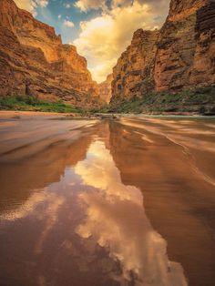 Colorado River, Grand Canyon National Park, Arizona via https://twitter.com/Interior/status/889993622724251648
