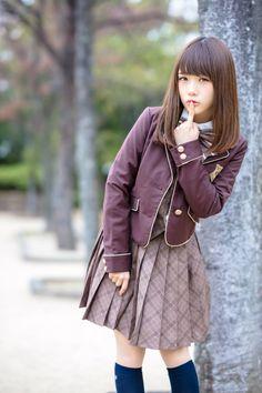 Japan School Uniform, School Girl Japan, School Girl Dress, Japan Girl, Maid Cosplay, Cute Cosplay, Cosplay Girls, The Most Beautiful Girl, Beautiful Asian Girls