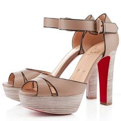 I appreciate & covet many shoes but I actually gasped OH MY! when I saw these. (Christian Louboutin) ladieshighheelsho...