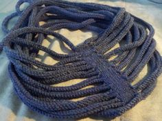 scarf of necklace for Medusa - with pattern