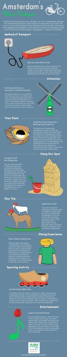 Amsterdam's Most Unique... Infographic