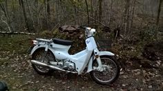 the white 50cc cub has done over 1000km now, most of it off road, I am happy with the build quality and with the way it handles the rough terrain of norway