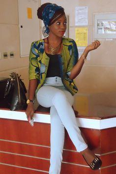 African Ankara Dresses   -latest ankara styles blazer-ankara skirts trousers-elegant african ...
