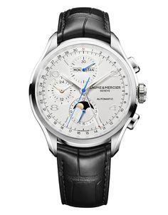 Baume et Mercier Clifton Chronograph Complete Calendar #baumeetmercier #luxurywatches #chronograph