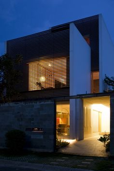 a21studio designed the M11 House in Hochiminh city, Vietnam.
