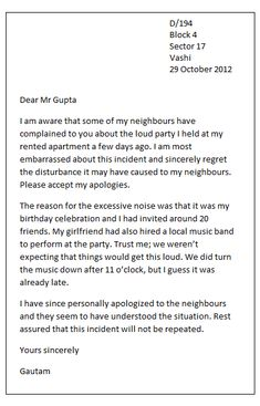 8 Best Sample Apology Letters images in 2013  Letter