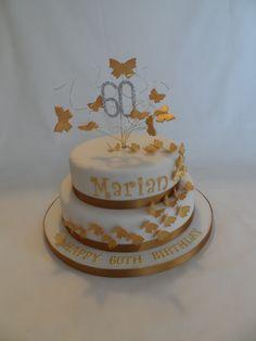 60th Birthday Cake #cavendishcakes