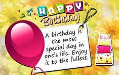 Interesting 61 Happy Birthday images with Quotes for Someone Special