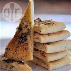 Triangles de pita au four @ allrecipes.fr