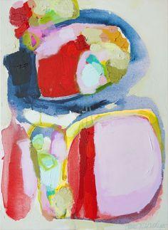 """Saatchi Online Artist: Claire Desjardins; Acrylic, 2012, Painting """"Willing"""""""