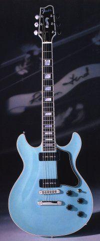 Fender Robben Ford signature guitar