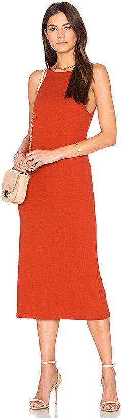 The Fifth Label Three Days Dress in Orange