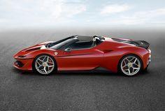 Ferrari verrast in Japan met gelimiteerde J50
