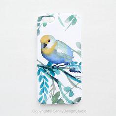 Lovely Bird original design iphone 5s case iphone by SenayStudio