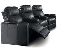 discount Berkline 12003 Reno Power Recline Black & Brown Leather