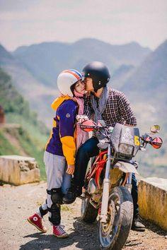 Yêu là cùng nhau đi hết con đường #Love #Couple #Travel
