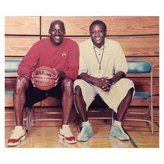 "Nice Kicks Vault on Instagram: ""Mike wearing the Cherry Red XI Low with Coach Gates in the Camp 23 #mjmondays"" Mike Jordan, Michael Jordan, Vaulting, Cherry Red, Kicks, Camping, Baseball Cards, Gates, Sports"