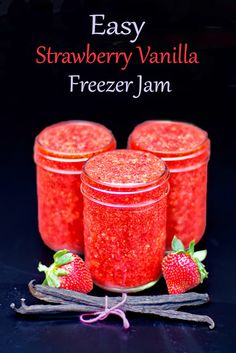 ... on Pinterest | Freezer jam, Peach freezer jam and Strawberry jam
