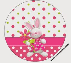 Easter in Pink Free Printable Candy Bar Labels. Party Printables, Free Printables, Easy Christmas Crafts, Easter Crafts, April Easter, Boarders And Frames, Candy Bar Labels, Bunny Party, Party Kit