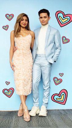 ChillaxWithJadineOnASAP (ctto) Perfect Couple, Best Couple, James Reid Wallpaper, Ranz Kyle, Human Body Organs, Nadine Lustre, Jadine, Prom Dresses, Formal Dresses